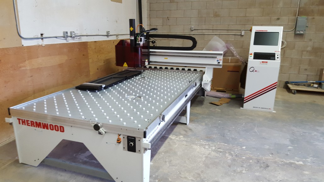 Cnc design group buys thermwood cnc automation for Home router architecture