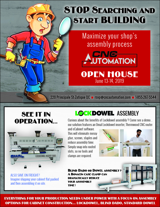 OPEN-HOUSE    Come visit Our Team at the CNC Automation Factory